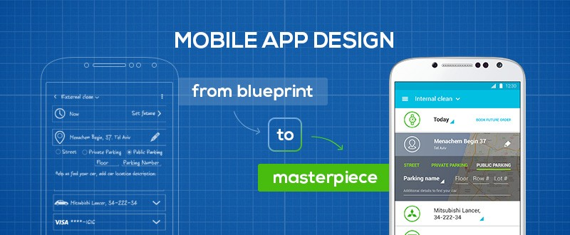 Mobile app design: from blueprint to masterpiece
