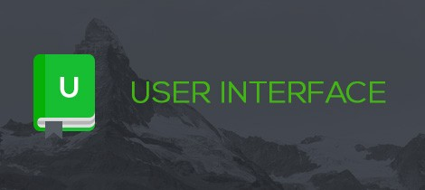 User Interface definition