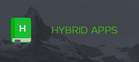 What is a hybrid app?